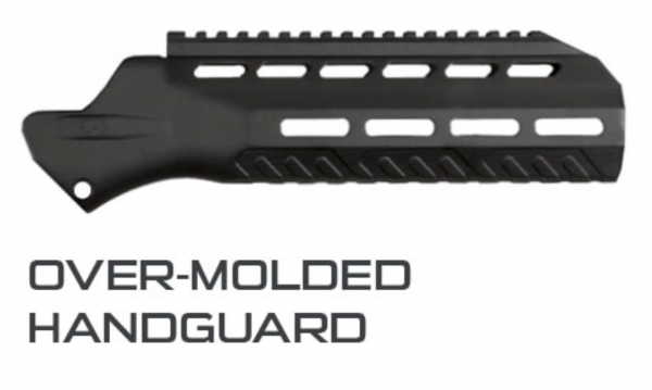DT MDR Reflex Handguard for use with OTB Suppressor
