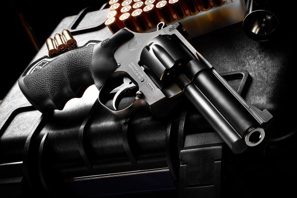 """3"""" Mongoose .357 Magnum - Adjustable Rear Sight, Gold Bead Front Sight"""