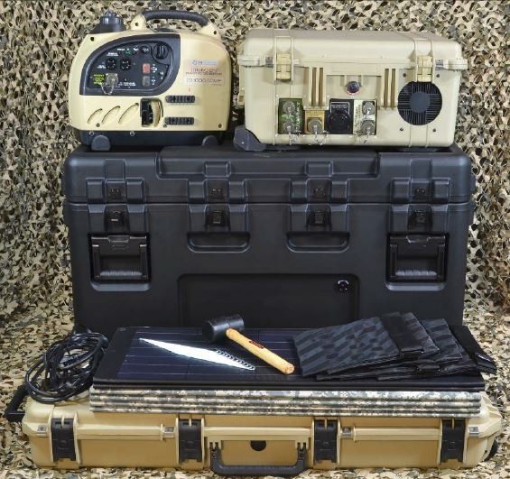 Trinity™ 1000 Autonomous Lightweight Lithium-ion hYbrid (ALLY™) Deployable Power Kit