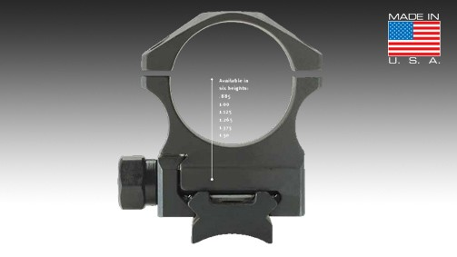 X-Treme Duty™ - Ring Set - 30mm - Steel