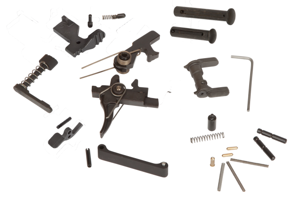 .308 LOWER PARTS KIT, 2 STG TRIGGER/HAMMER, S/A AMBI SELECTOR