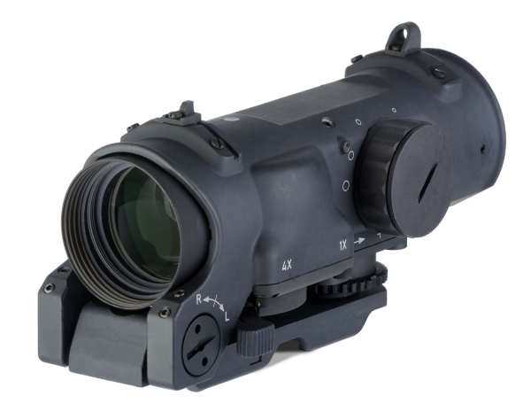 SpecterDR Dual Role 1x/4x Optical Sight - w/ integral A.R.M.S Picatinny Mount - incl. ARD