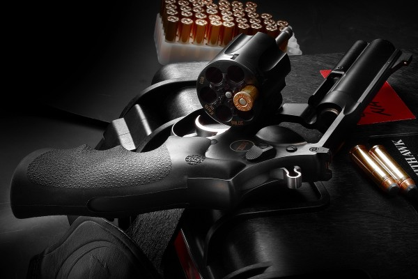 """6"""" Mongoose .357 Magnum - Adjustable Rear Sight, Gold Bead Front Sight"""