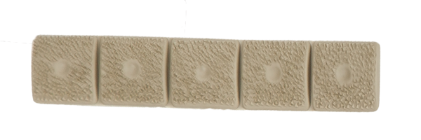 LM8® 5-SECTION GRIP PANEL, FLAT DARK EARTH