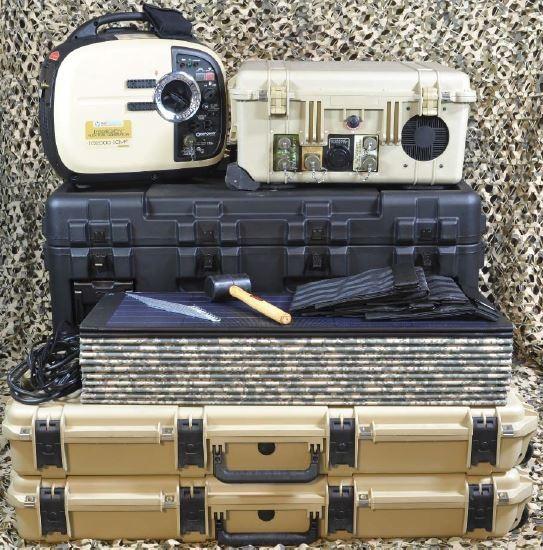 Trinity™ 2000 Autonomous Lightweight Lithium-ion hYbrid (ALLY™) Deployable Power Kit