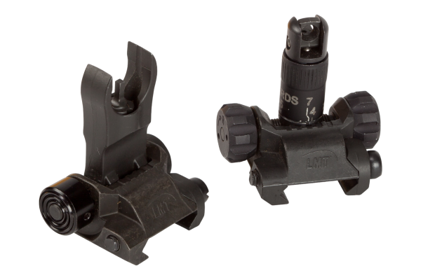 5.56 FRONT AND REAR FLIP-UP SIGHTS, IMPERIAL