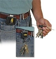 High Force Key Retractor - for 15-28 Keys, Badges