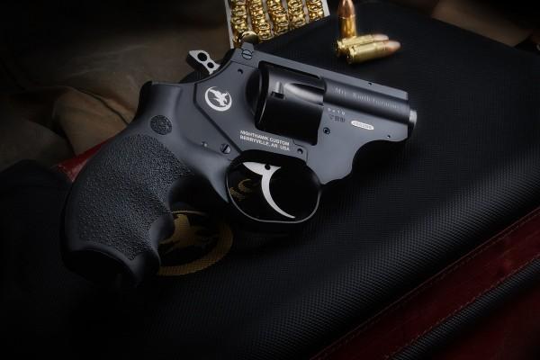 "2"" Skyhawk 9mm - Alu Frame, Custom DA Polished Trigger, Adj. Rear Sight, Gold Bead Front Sight"