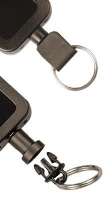 Handcuff Key Retractor