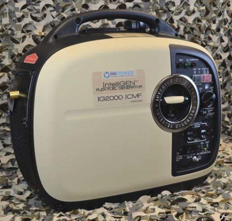 IntelliGEN 2000 Flex Fuel Generator V2.5