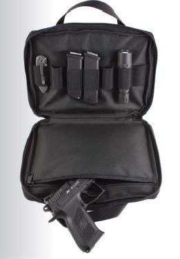 Handgun Carry Case, Cordura, Klett, Reissverschluss