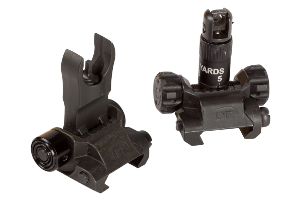 .308 FRONT AND REAR FLIP-UP SIGHTS, IMPERIAL